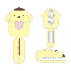 Pompompurin Folding Hair Brush: D-Cut