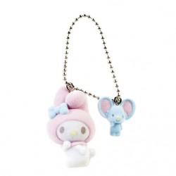 My Melody Key Chain with Msct: Flocky