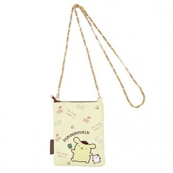 Pompompurin Shoulder Pouch with Chain