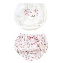 Hello Kitty 2P Panty: 90 Quilt