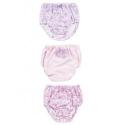 Bonbonribbon 3 Pk Panties: 120 Check