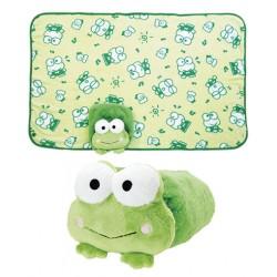 Keroppi Blanket & Case: Soft