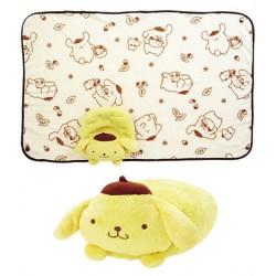 Pompompurin Blanket & Case: Soft