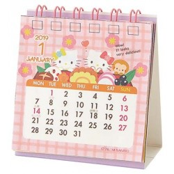 Hello Kitty Mini Desk Calendar: 2019