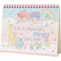 Little Twin Stars Desk Calendar: 2019