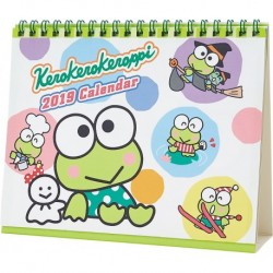 Keroppi Desk Calendar: 2019