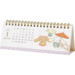 Cinnamoroll Desk Calendar: Wide 2019