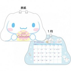 Cinnamoroll Desk Calendar: D-Cut 2019