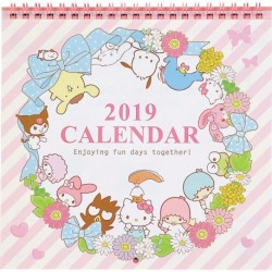 Assorted Wall Calendar: Medium 2019 Lease