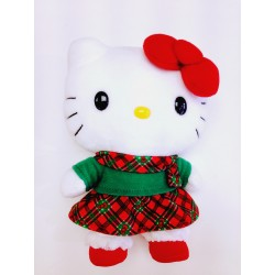Hello Kitty 7inch Plush Christmas