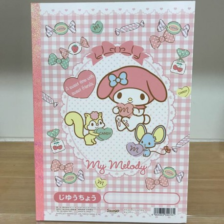 My Melody B5 Note Book