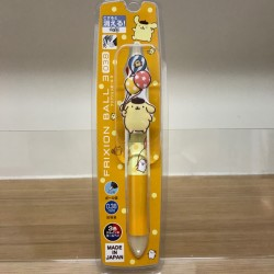 Pompompurin Erasable Frixion 3 Colour Ballpoint Pen