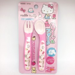 Hello Kitty Baby Spoon & Fork Set