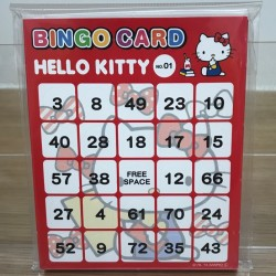 Hello Kitty Bingo Card