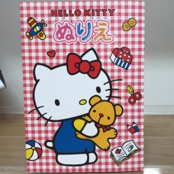 Hello Kitty B5 Coloring Book