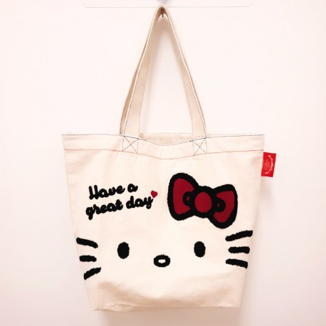 Hello Kitty Tote: Canvas Face