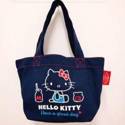 Hello Kitty Mini Tote: Canvas Logo