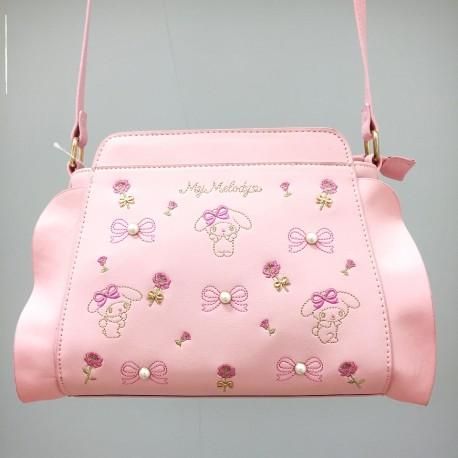 My Melody Shoulder Bag: Quilt Embr