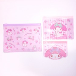 My Melody 3Pcs Vinyl Case: