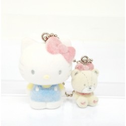 Hello Kitty Key Chain with Msct: Flocky