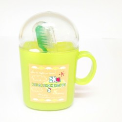 Keroppi Cup Toothbrush Set G