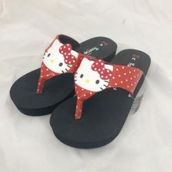 Hello Kitty Mascot Slipper: L