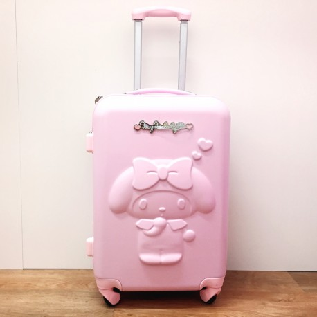 My Melody Rolling Suitcase/luggage : Medium Pink
