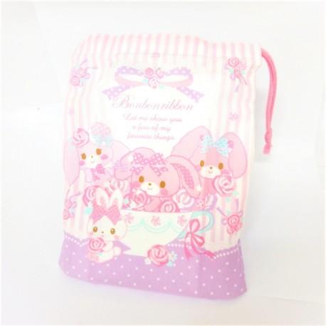Bonbonribbon Cup Bag: Rose