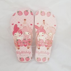My Melody 25cm Flip Flop Strawberry