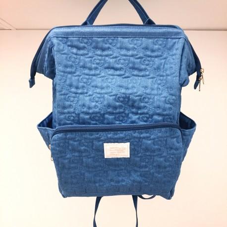 Hello Kitty Easy-Open Backpack: Denim