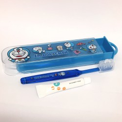 I'm Doraemon Travel Toothbrush Set: Case