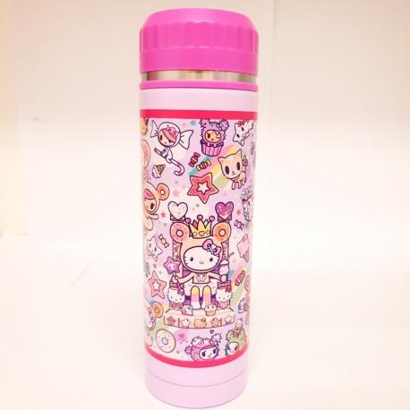 Hello Kitty Stainless Steel Bottle:Tokidoki