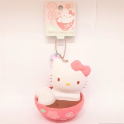 Hello Kitty Key Chain with Mascot: Wakashi