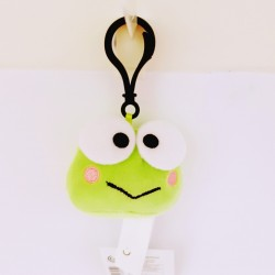 Keroppi Mascot Plush with Clip: Nkk