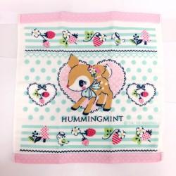 Hummingmint Wash Towel: Strawberry