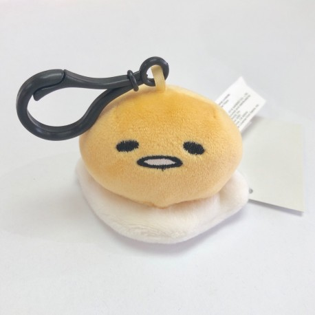 Gudetama Mascot Plush with Clip: Nkk