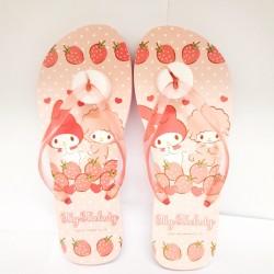 My Melody 26cm Flip Flop Strawberry