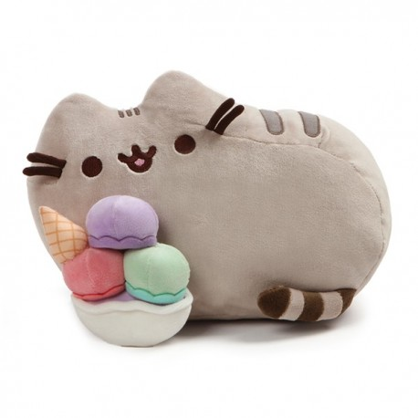Pusheen With Sundae