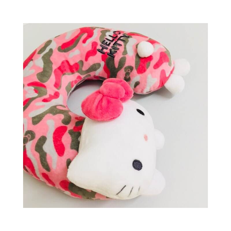 Hello Kitty Neck Pillow Camouflage The Kitty Shop