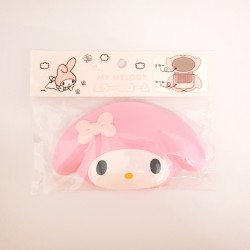 My Melody D-Cut Mirror & Comb: Pink