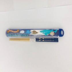 Shinkaizoku Chopsticks & Case: Logo