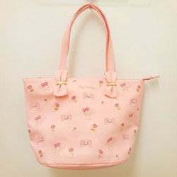 My Melody Tote Bag: Quilt Embr