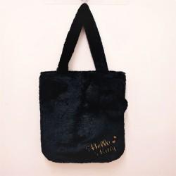Hello Kitty Tote Bag: Boa Embr