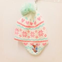 Hummingmint Knit Cap: Glitter