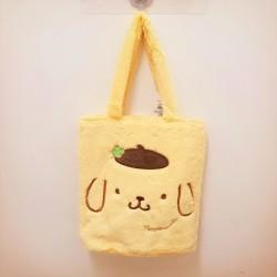 Pompompurin Tote Bag: Boa Embr