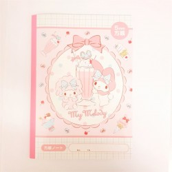 My Melody B5 Grid Note Book
