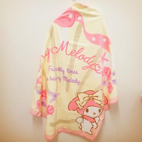My Melody Big Towel: D-Cut