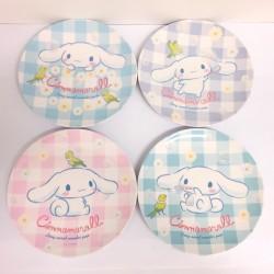 Cinnamoroll Melamine Plate Set: Daisy