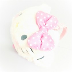 Hello Kitty Boa Earmuffs: Dot D-Cut