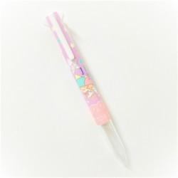 Little Twin Stars Style Fit 5-Colour Pen Holder T Purple UE5H308SR.TP